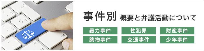 奈良の事件別概要・弁護活動